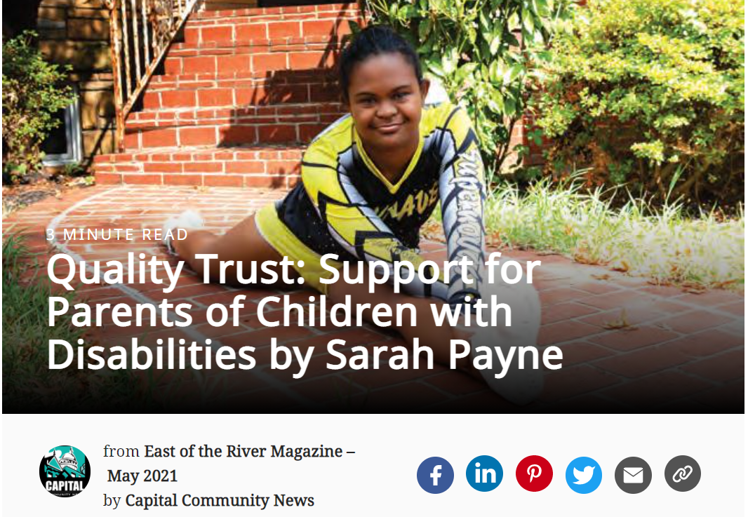 Quality Trust featured in the News